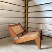 Kangourou chair 🪑 #pierrejeanneret @mdfg.nyc